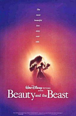 Image result for beauty and the beast 1991 poster