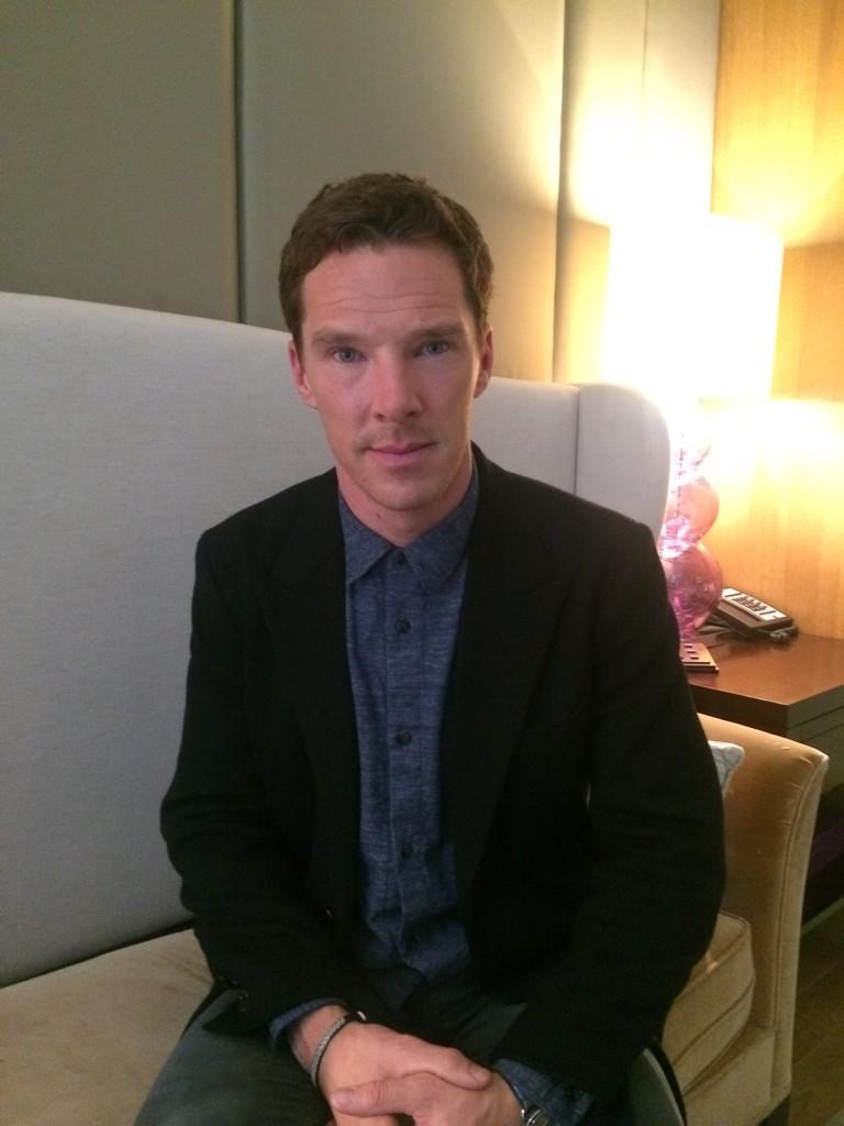 Benedict cumberbatch theimitationgame twitter q amp a full it s